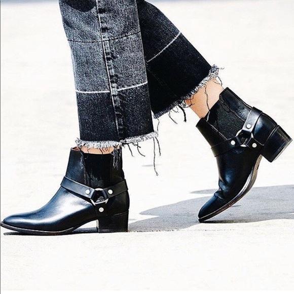 NWOT Frye // Dara Harness Chelsea Boot